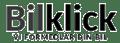 Bilklick black logo
