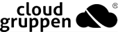 Cloudgruppen black logo