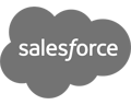 Salesforce black logo