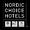 Nordic choice hotels black logo