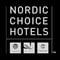 Nordic choice hotels black logo