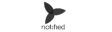Notified black logo