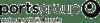 Portsgroup black logo