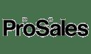 Prosales black logo