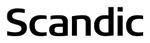Scandic black logo
