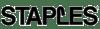 Staples black logo