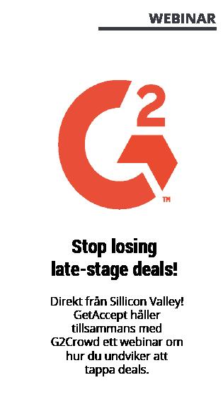 Webinar med GetAccept - G2 Crowd