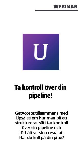 Webinar med GetAccept - Upsales